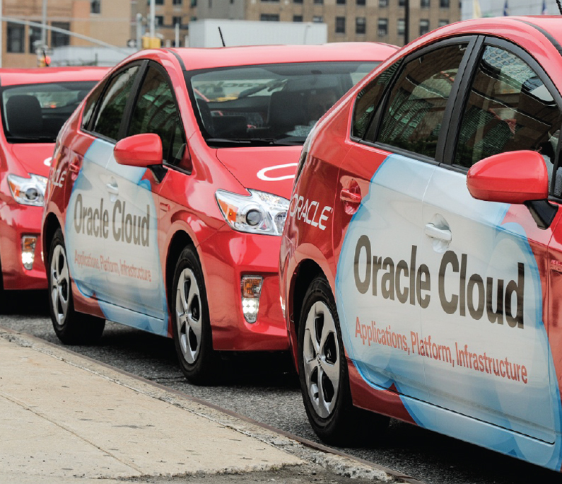 Oracle Car Wrap